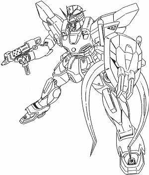 The gx project xxxg 01sr2 gundam sandrock kai for Gundam wing coloring pages